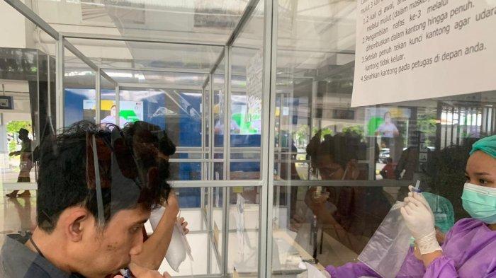 Tes GeNose di Stasiun Solo Balapan Kini Rp 30 Ribu, Hanya Perlu 10 Menit Untuk Tahu Hasilnya