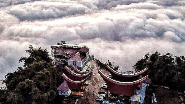 Menikmati Keindahan Tongkonan Lempe, Wisata Negeri Atas Awan di Toraja Utara