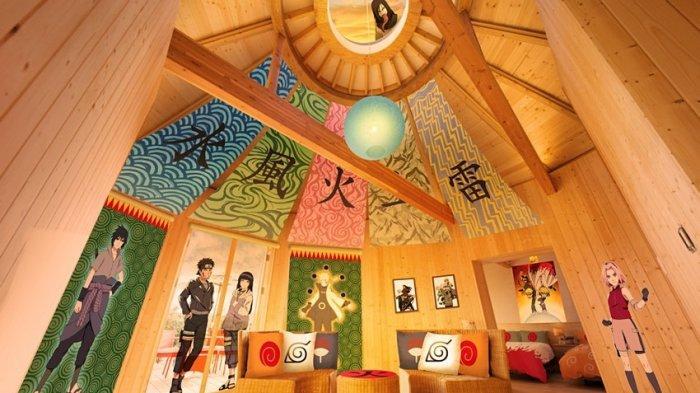 Pecinta Naruto Harus Kesini, Vila Bertema Ninja Berambut Kuning Tersebut Resmi Dibuka Di Jepang