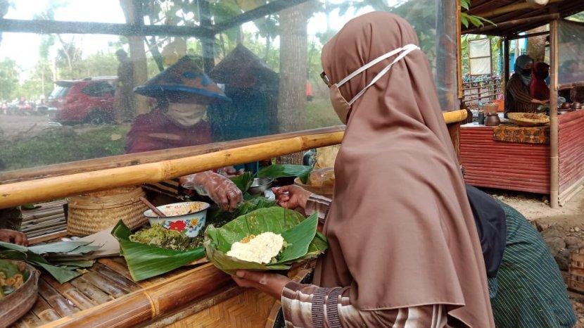 Pasar Bahulak di Sragen, Sajikan Makanan Dengan Konsep Tempo Dulu, Wisatawan Wajib Berkunjung