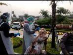 Puluhan Kendaraan Diberhentikan di Rest Area 487 B Tol Solo-Semarang, 47 Orang Diswab Antigen