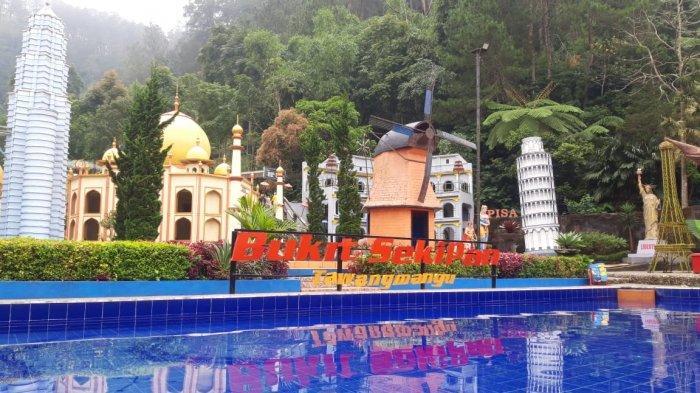 Bukit Sekipan Tawangmangu: Tawarkan Puluhan Spot Selfi dan Wahana Permainan
