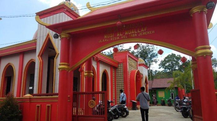 Asal Usul Nama Masjid Musi Al Muallaf di Lubuklinggau, dari Orang Tionghoa