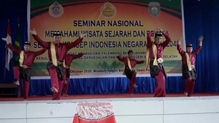 Mengenal Tari Sambut Sondok Piyogo dari Kesultanan Palembang Darussalam