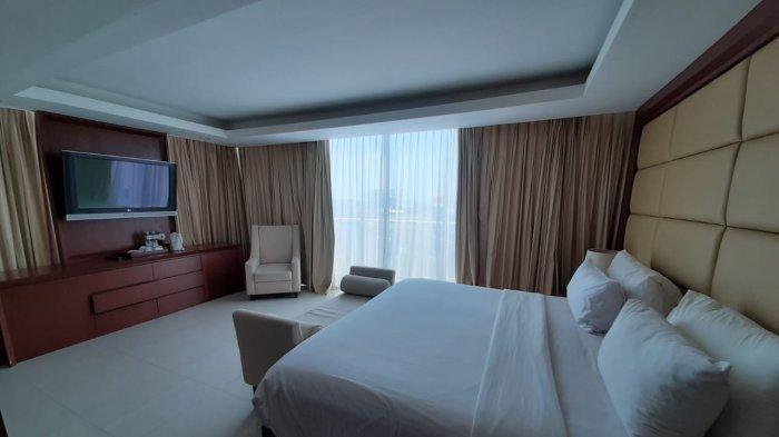 Mengintip Kamar President Suite Hotel Santika Makassar, Rp 3,5 Juta Permalam, Isinya Apa?