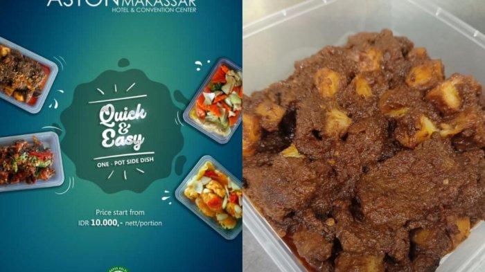Yuk Pesan Quick & Easy, Paket Kuliner Aston Makassar, Mulai Rp 10 Ribuan,Ada Ayam Taliwang
