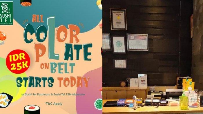 Dirumah Aja, Sambil Pesan Sushi Tei Ada Promo All Color Plate on Belt Mulai Rp 25 ribuan