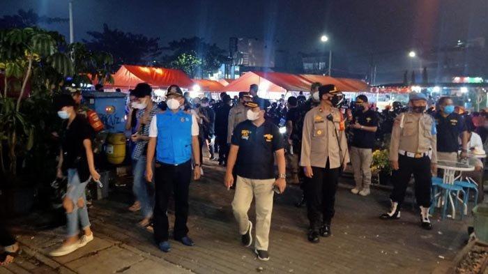 Pusat Kuliner di Pamulang jadi Sasaran Operasi Yustisi Prokes