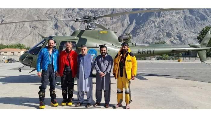 Tiga Pendaki Berhasil Diselamatkan dari Lereng Rakaposhi, dan Harus Membayar Biaya Operasi SAR