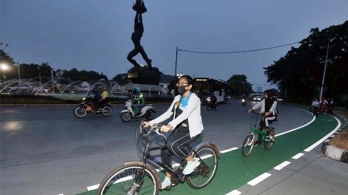 Sekarang Masih Belum Bisa Bersepeda di Sudirman dan Thamrin ya, Guys
