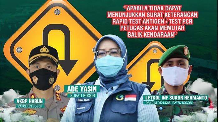 Jangan Lupa Tes PCR atau Rapid Antigen Bila Ingin Berwisata ke Kabupaten Bogor