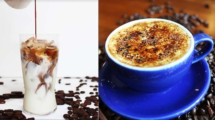 Santikapuccino dan Latte Crème Brulee ditujukan bagi pencinta kopi.