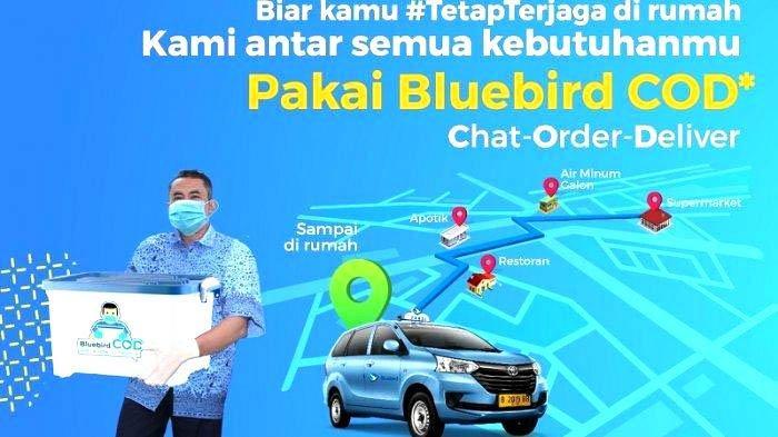 Blue Bird Kenalkan Layanan Bluebird COD