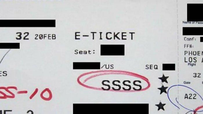 Ini Arti Kode Huruf yang Tertera pada Boarding Pass, Waspada dengan Kode SSSS