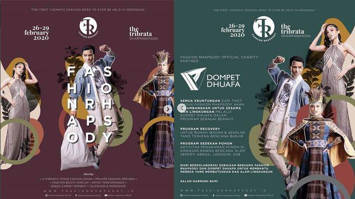 Nonton Fashion Show Sambil Dukung Pelestarian Lingkungan dan Beramal