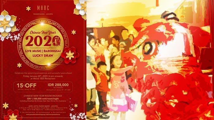 Sajian Peking Duck Sambut Tahun Tikus Logam di Marc Hotel Passer Baroe