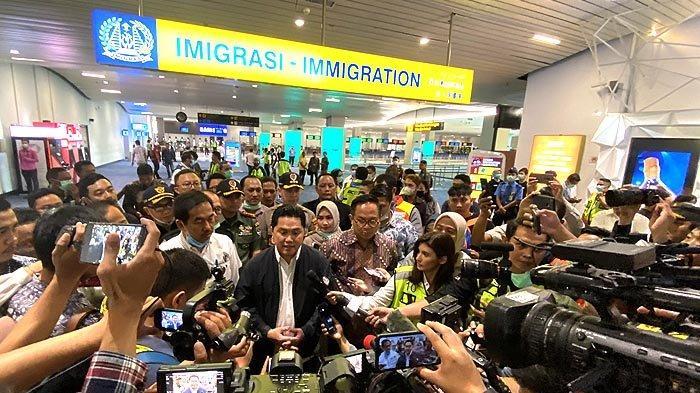 Erick Thohir Optimistis Bandara Soetta Mampu Minimalisir Penyebaran Virus Corona