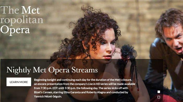 Isi Masa Isolasi Mandiri dengan Menonton Pertunjukan Opera Gratis