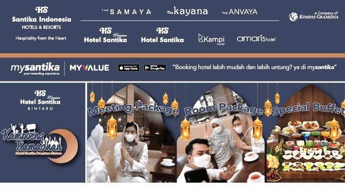 PROMO! Santika Premiere Bintaro Tawarkan Paket Rapat yang Nyaman dan Aman Selama Bulan Ramadan