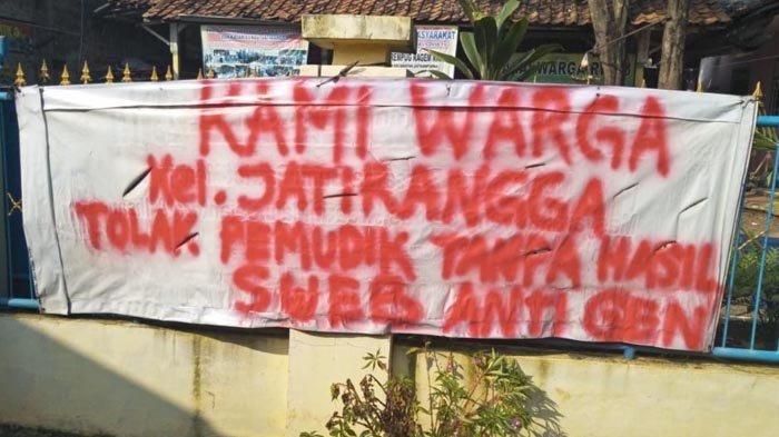 Warga Kecamatan Jatisampurna Minta Pemudik yang Kembali ke Jatisampurna Harus Negatif Covid-19