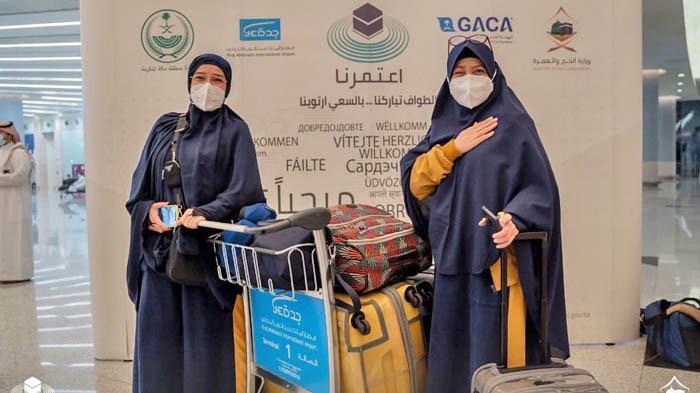 Jemaah Umrah Indonesia adalah Rombongan Jemaah Internasional Kedua yang Tiba di Jeddah