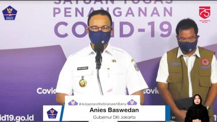 Anies Baswedan Minta Warga Jakarta Tak Berlibur ke Luar Kota pada Libur Akhir Pekan Panjang Besok
