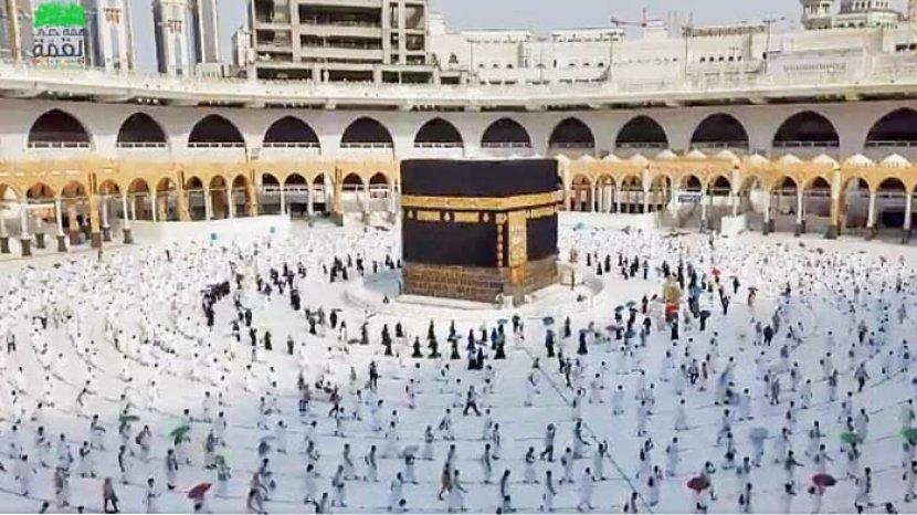 Kerajaan Arab Saudi Membuka Kembali Ibadah Umrah pada 4 Oktober 2020. Pendaftaran Lewat Aplikasi