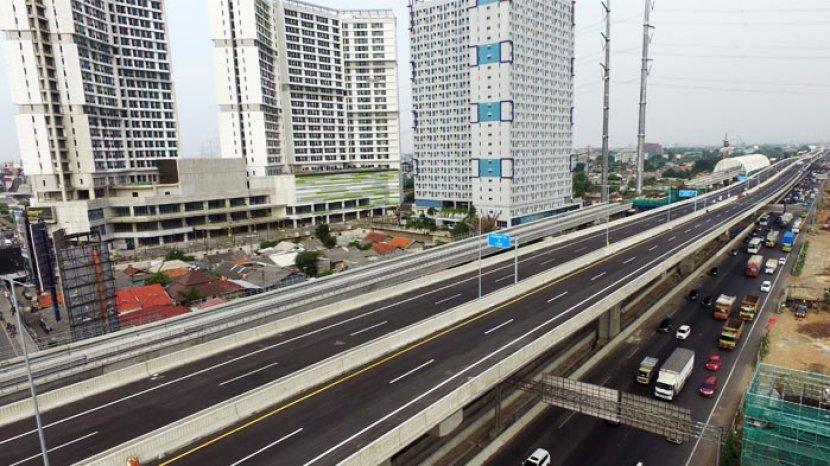 Tarif Jalan Tol Jakarta - Cikampek Naik Setelah Terintegrasi dengan Tarif Jalan Tol Layang Japek