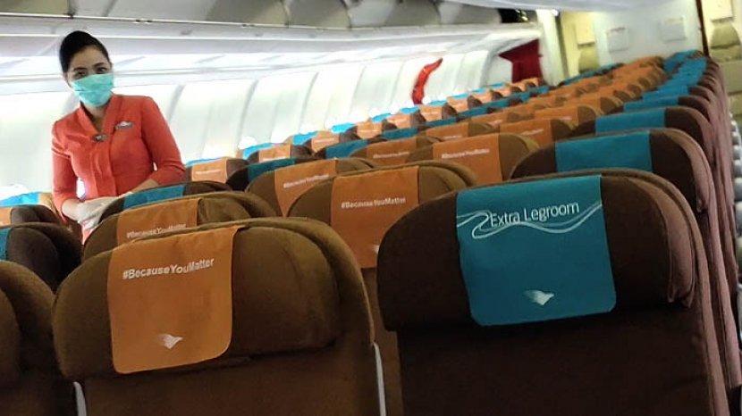 Garuda Indonesia Menyambut Baik Syarat Wajib Uji PCR bagi Penumpang Pesawat Udara
