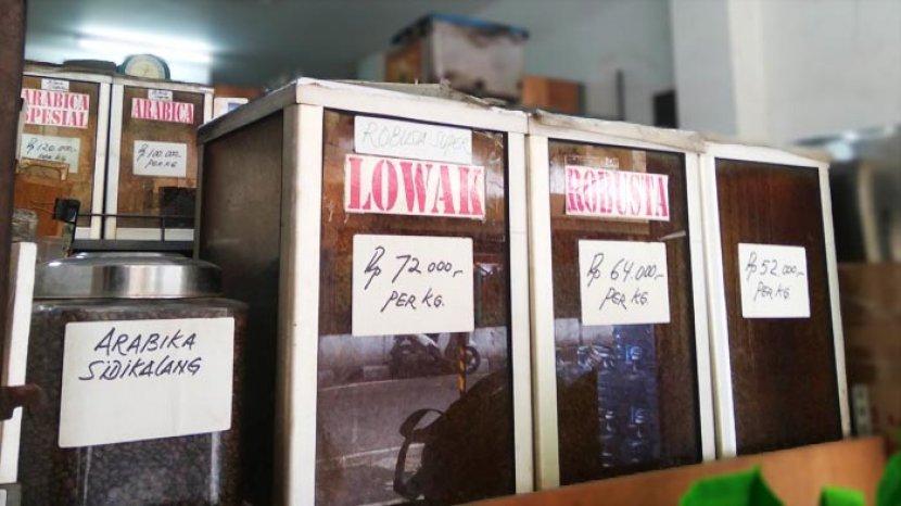 Toko Kopi Luwak di Gondangdia, Lawas Tapi Baru